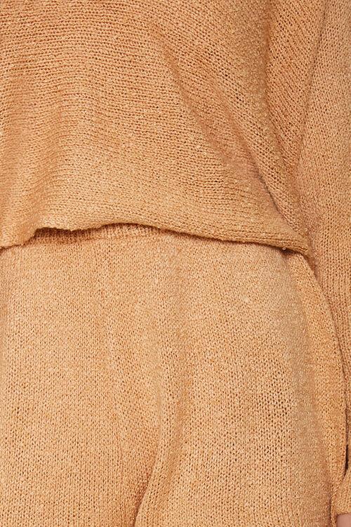 Boucle Knit Sweater & Shorts Set, image 5