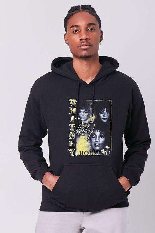 BLACK/MULTI Whitney Houston Graphic Hoodie, image 1