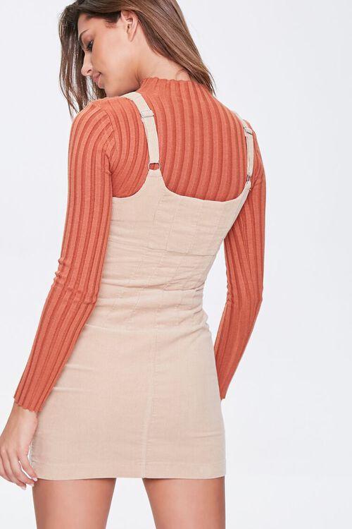 Ribbed Overall Dress, image 3