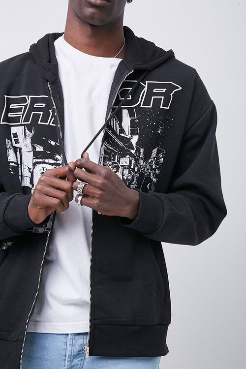Error Graphic Zip-Up Hoodie, image 1