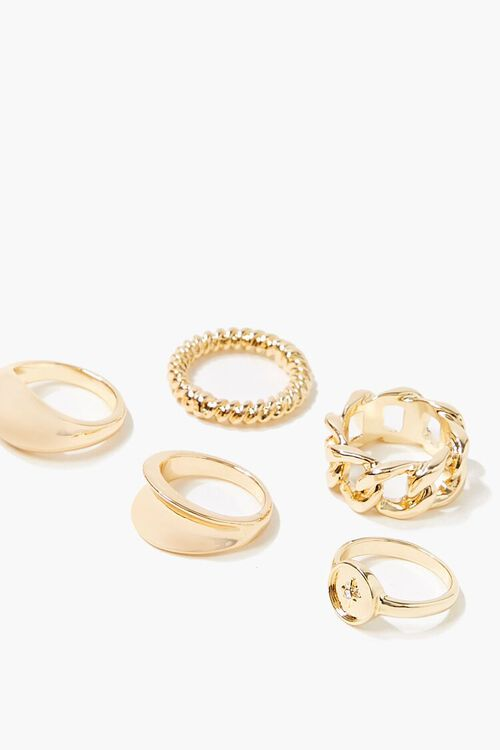 High-Polish Ring Set, image 2