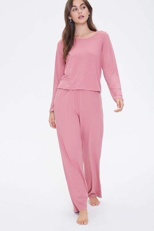 Pajama Top & Pants Set, image 1