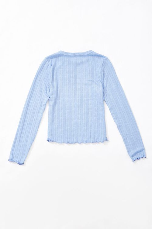 Girls Ribbed Top (Kids), image 2
