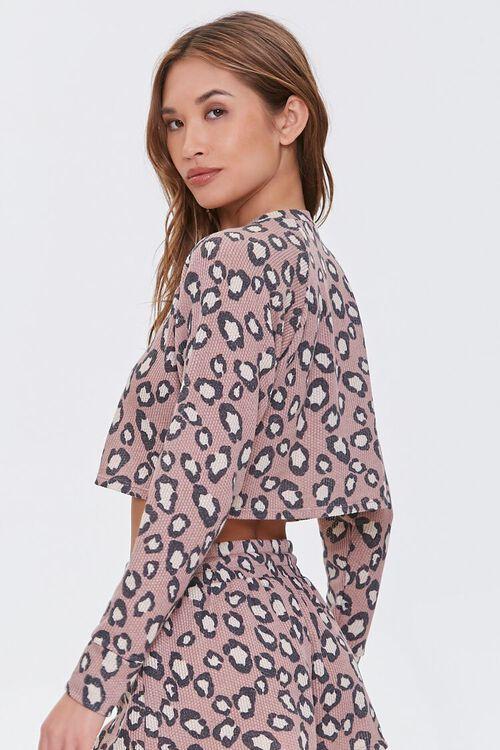 Leopard Print Lounge Top, image 3