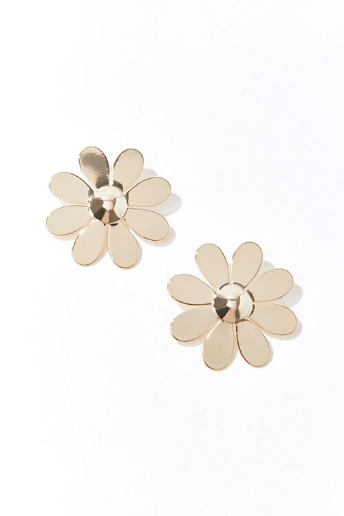 Oversized Daisy Stud Earrings, image 1