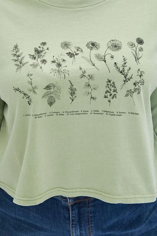 Plus Size Wildflower Graphic Tee, image 5