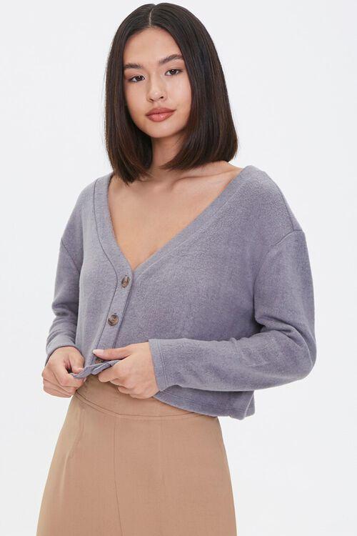 Boxy Cardigan Sweater, image 1