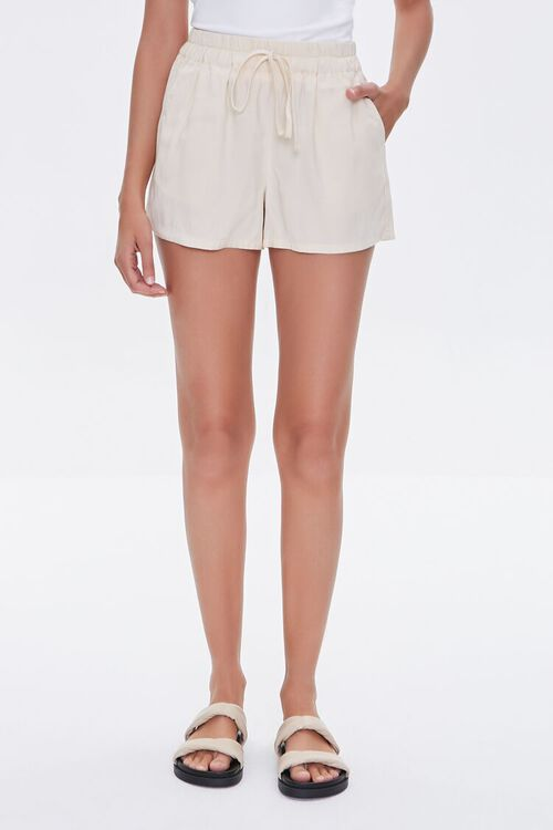 Drawstring Relaxed-Fit Shorts, image 2