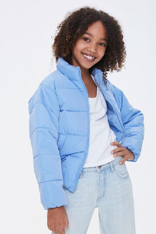 Girls Puffer Jacket (Kids), image 1