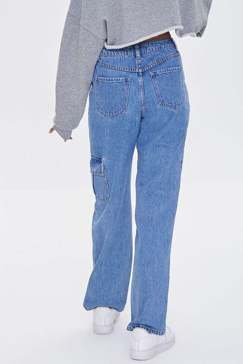 Straight-Leg Cargo Jeans, image 4