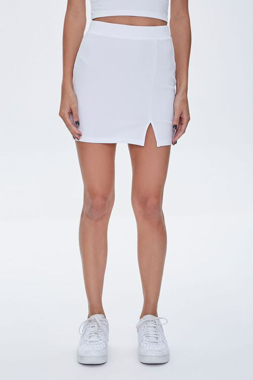 Fitted Mini Skirt, image 2