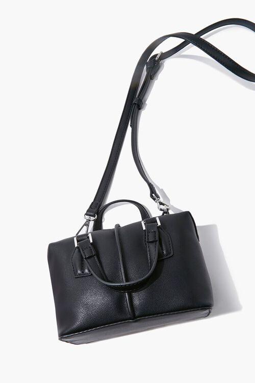 BLACK Top Handle Crossbody Bag, image 4