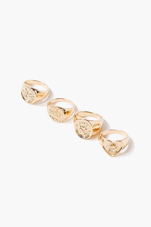 Engraved Ring Set, image 1