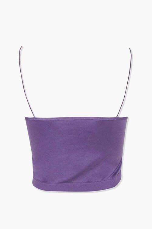 AMETHYST Seamless Stretch-Knit Bralette, image 3