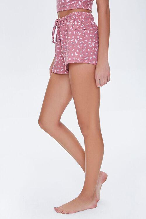 Floral Print Lounge Shorts, image 3