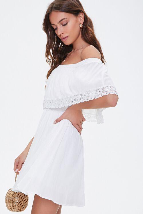 Crochet Off-the-Shoulder Dress, image 2