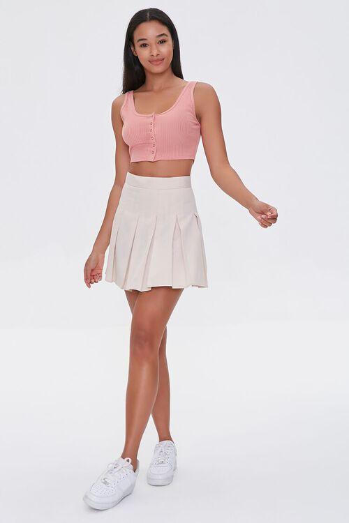 Pleated A-Line Mini Skirt, image 5