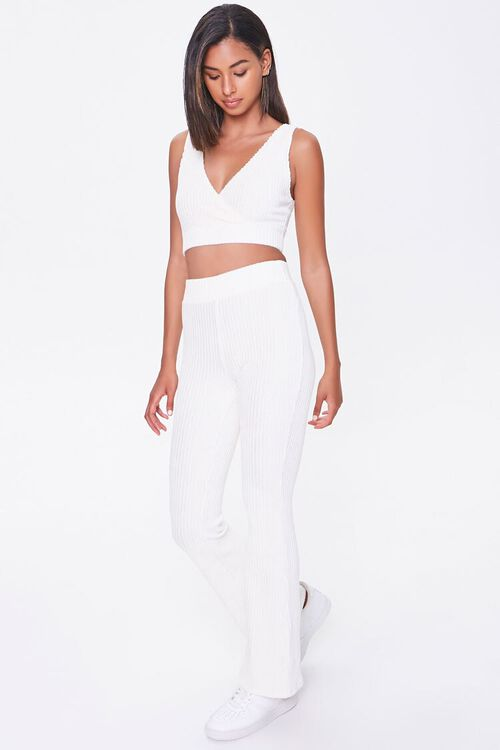 Ribbed Knit Crop Top, image 4