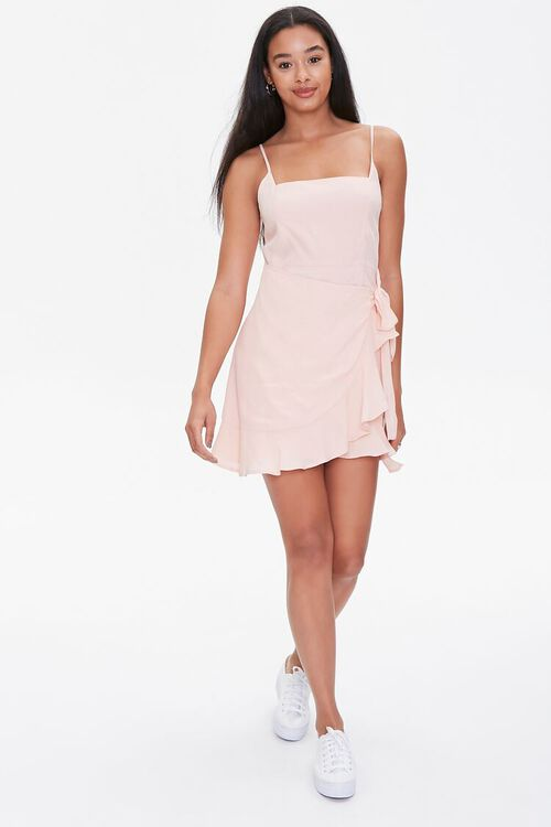Ruffled Cami Wrap Dress, image 4