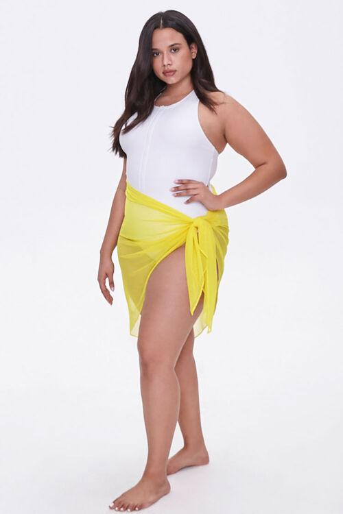 Plus Size Sarong Swim Cover-Up, image 5