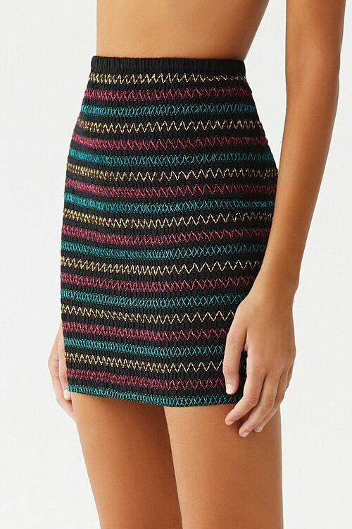 Embroidered Mini Skirt, image 3