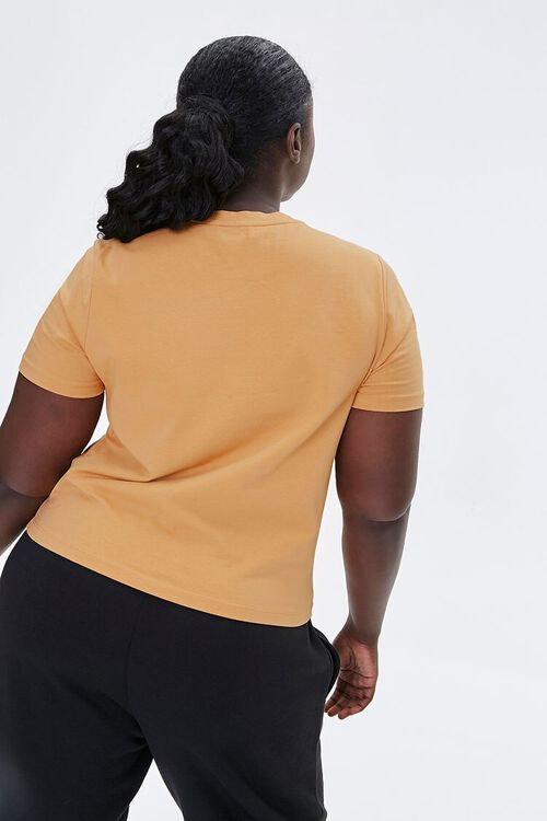 Plus Size Touching Hands Graphic Tee, image 3