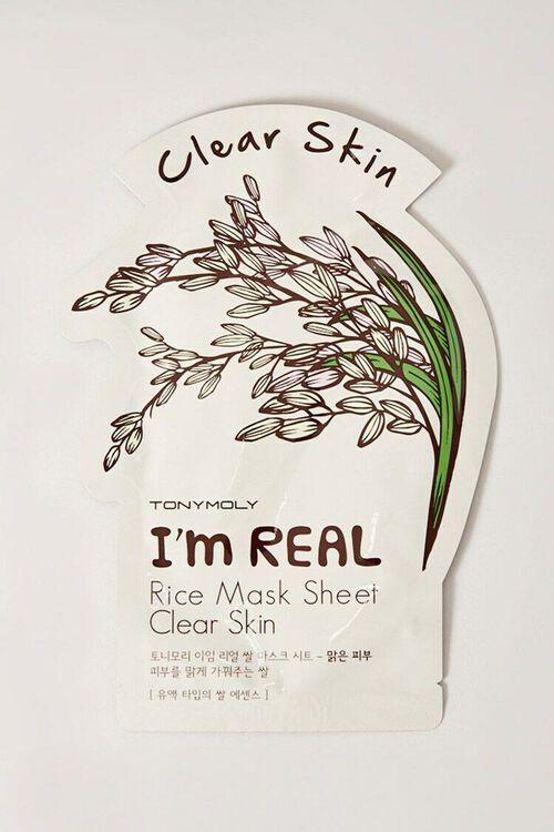 Im Real Sheet Mask – Clear Skin, image 1
