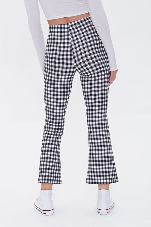 Gingham Flare Pants, image 4