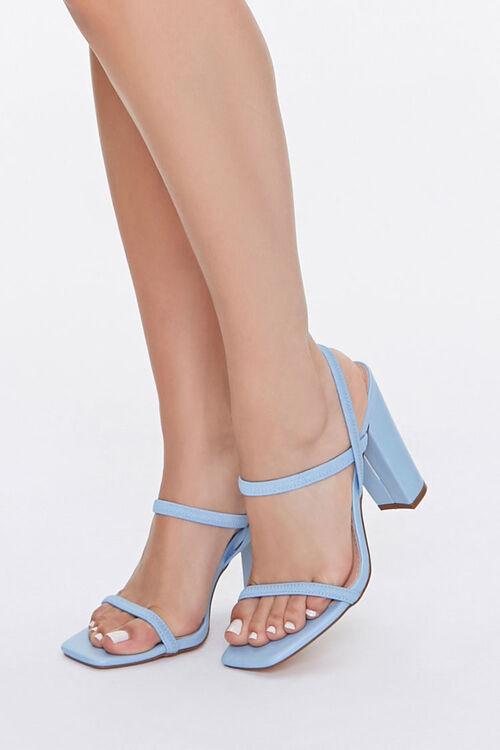 Strappy Block Heels, image 1