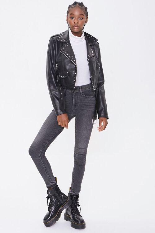 Studded Moto Jacket, image 4