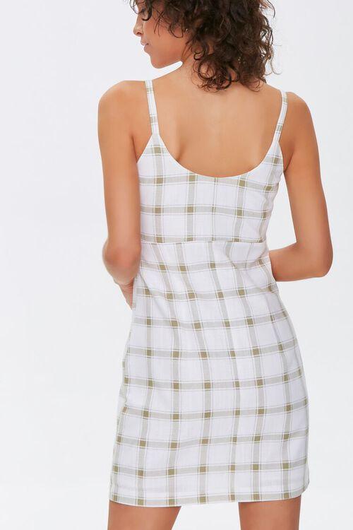 Plaid Cami Mini Dress, image 3