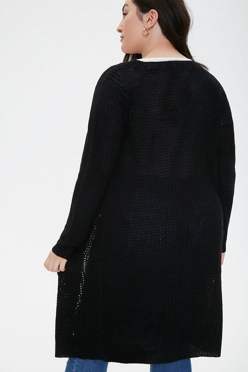 Plus Size Duster Cardigan, image 3