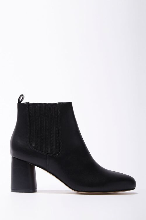 Faux Leather Booties, image 1