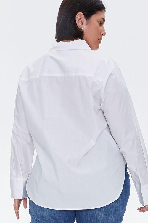 Plus Size Button-Up Shirt, image 3
