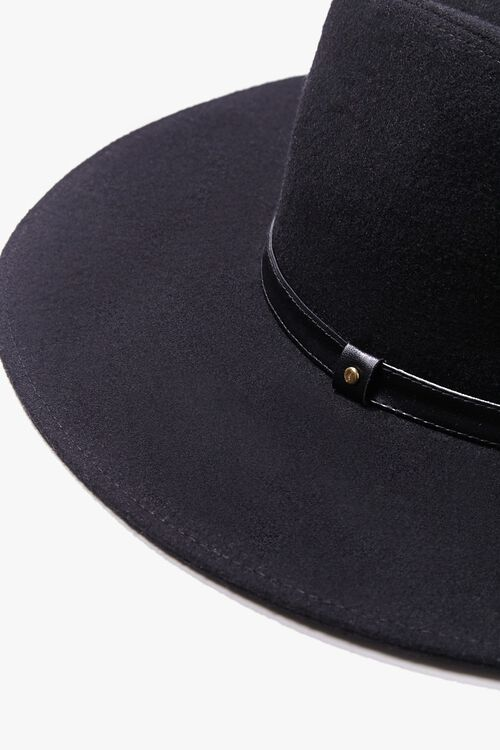Brushed Wide-Brim Panama Hat, image 3