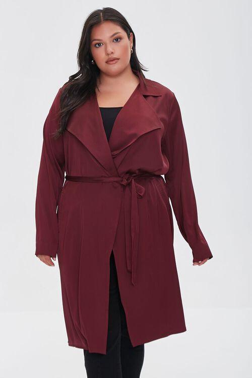 RED Plus Size Wrap Jacket, image 5