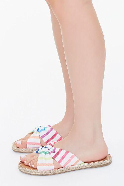 Rainbow Striped Sandals, image 2