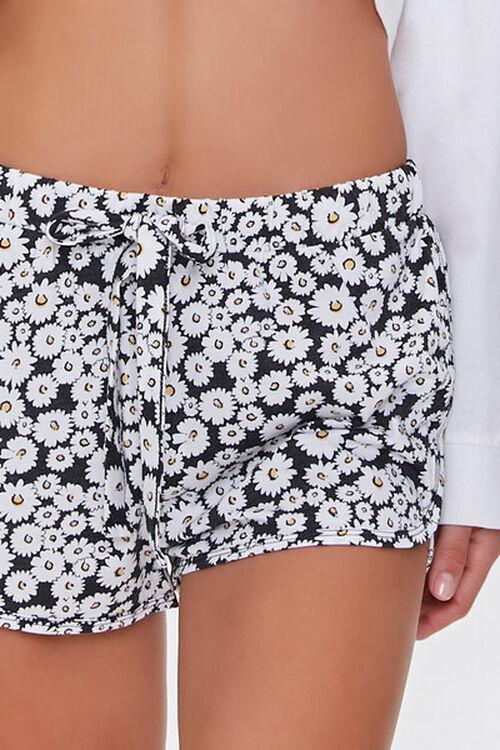 Daisy Print Lounge Shorts, image 5