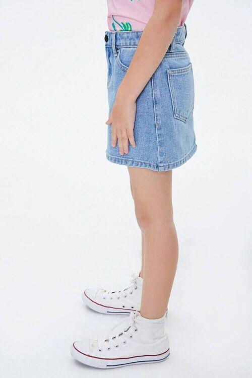 Girls Denim A-Line Skirt (Kids), image 3