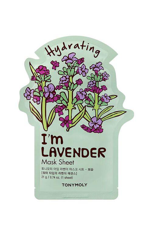 Im Lavender Sheet Mask – Hydrating, image 1