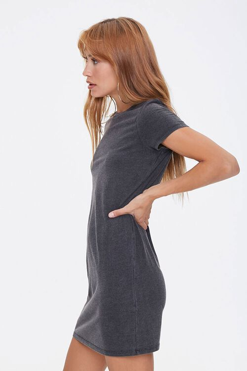 Crew Neck T-Shirt Dress, image 2