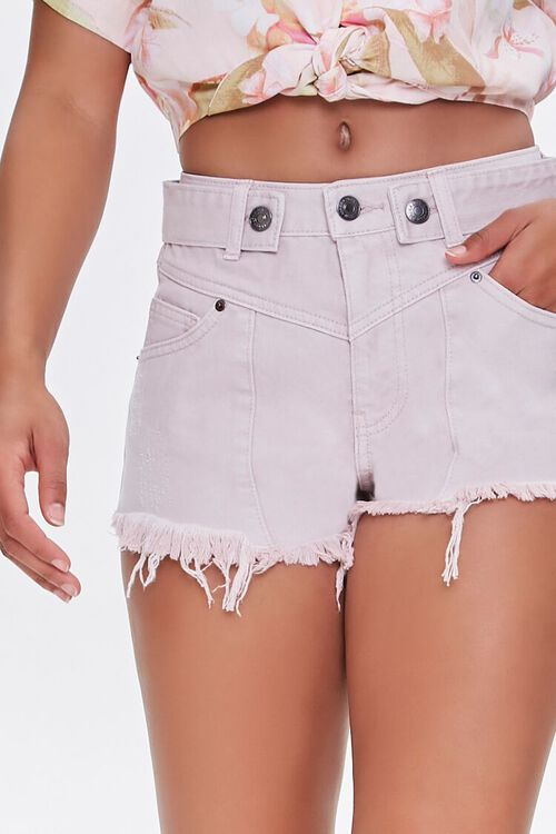 Frayed Twill Shorts, image 5
