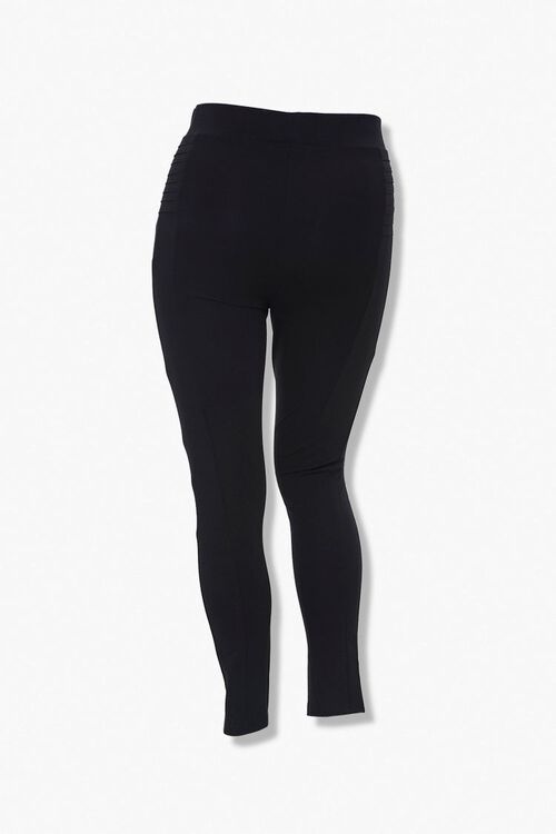 Plus Size Ribbed Leggings, image 3