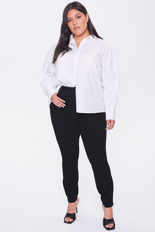 Plus Size Poplin Shirt, image 4