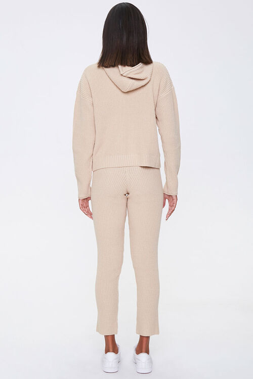 Sweater-Knit Hoodie & Pants Set, image 3