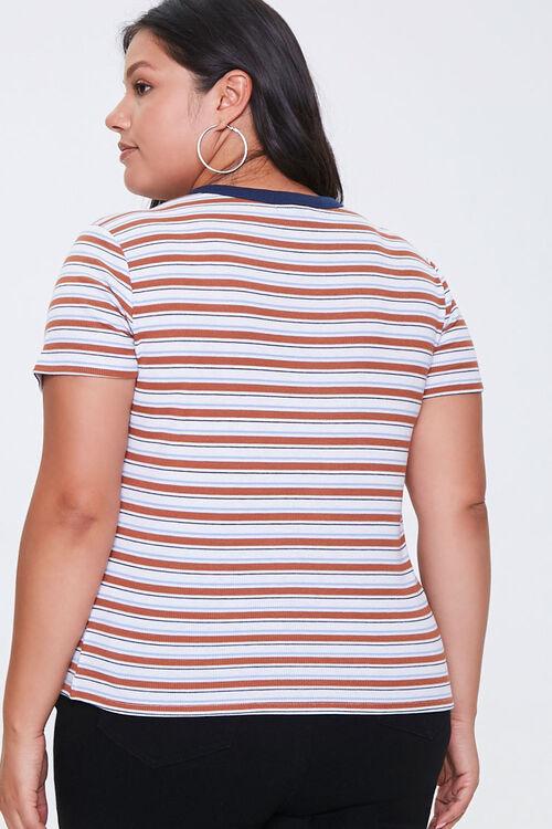Plus Size Striped Tee, image 3
