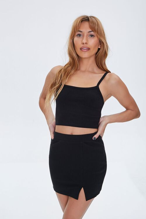Fitted Mini Skirt, image 1