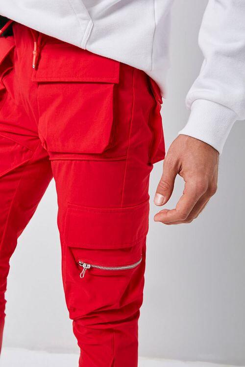 Dual-Cargo Pocket Drawstring Pants, image 6