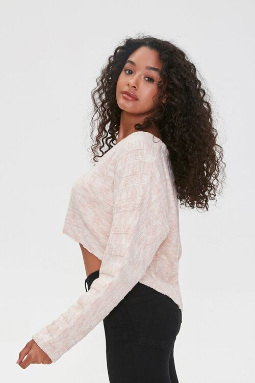 Marled High-Low Sweater, image 2
