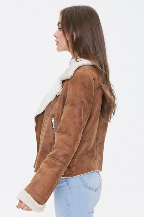 Faux Shearling & Suede Jacket, image 2